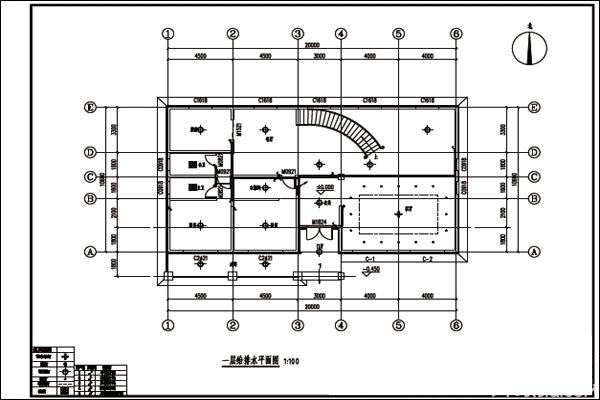 装修水电设计图纸样板