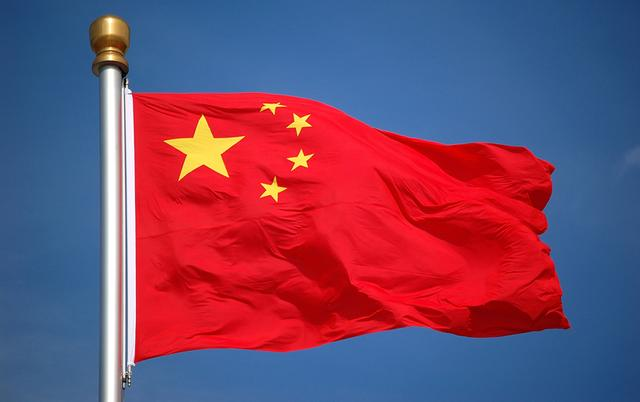 国旗旗杆图片