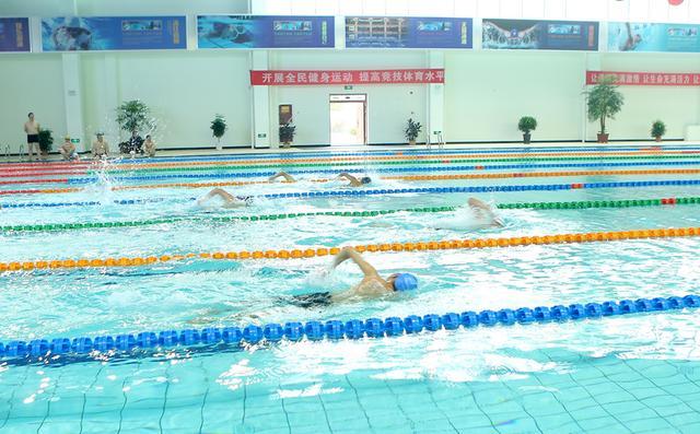 合阳县成功举办第三届游泳比赛