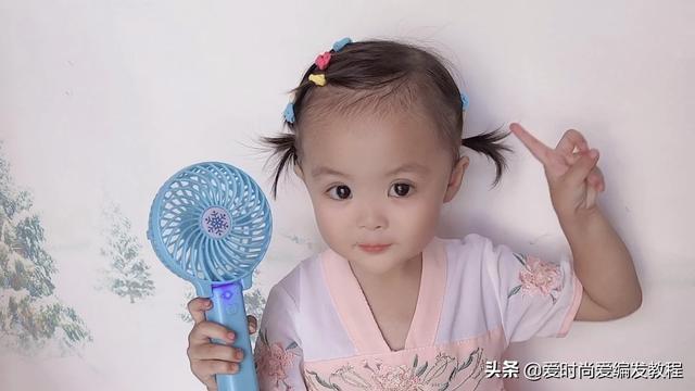 小女孩短发发型