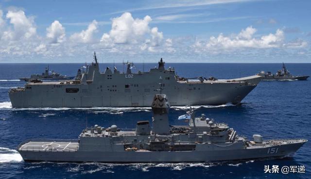 澳大利亚迈出了危险一步,悍然对台岛指手画脚,力挺美国印太战略
