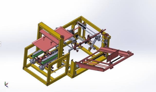 开箱机3D数模图纸 Solidworks设计