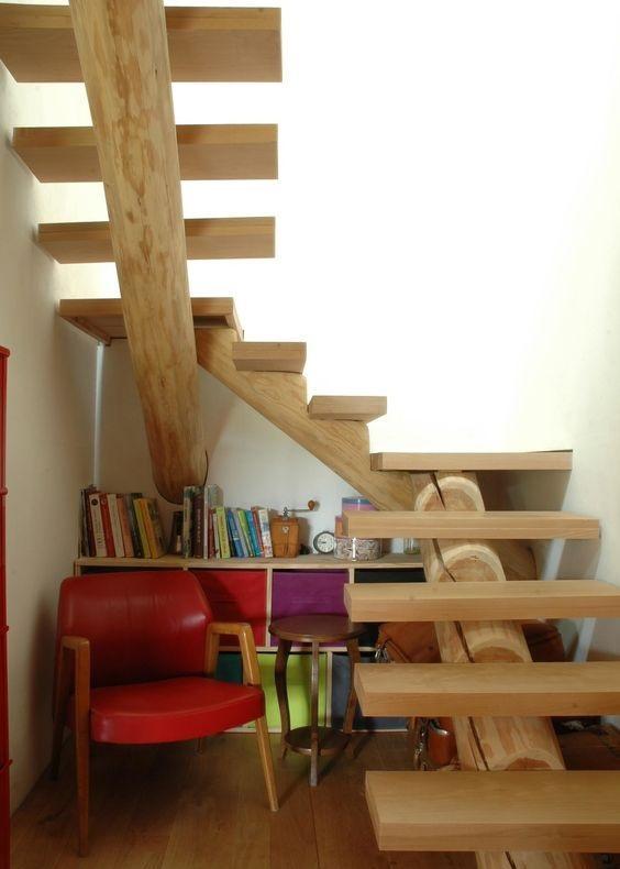 现代木质楼梯扶手