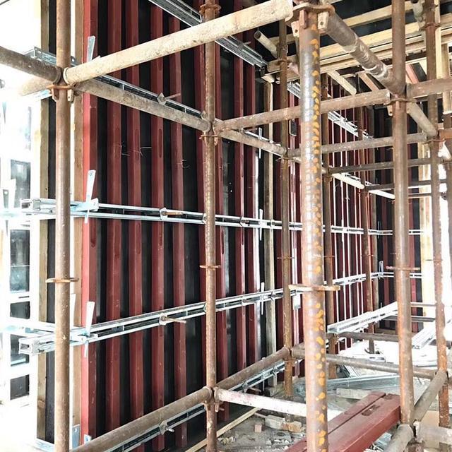 新型剪力墙钢背楞为什么能替代钢管加固?