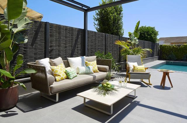 花园和庭院区隐私篱笆设计和建设的案例分享