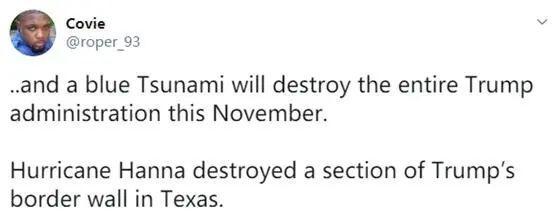 """特朗普边境墙被飓风刮倒?有人看到""""神迹"""",事实究竟是什么"""