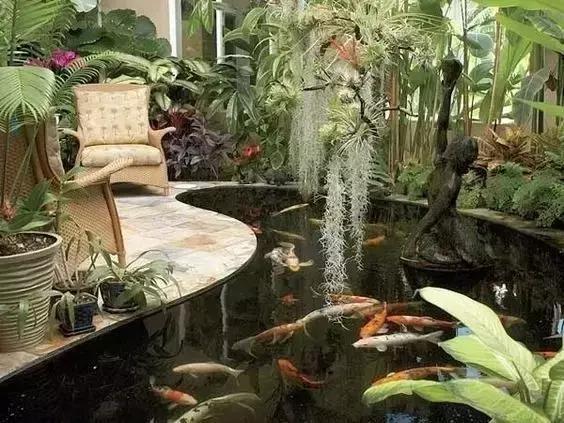 庭院水池风水位置图解