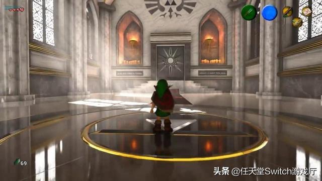 虚幻4重制版《塞尔达传说时之笛》新演示