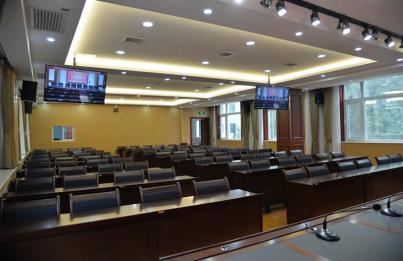 保定市委大楼会议室选用宝业恒C-MARK网络数字扩声系统