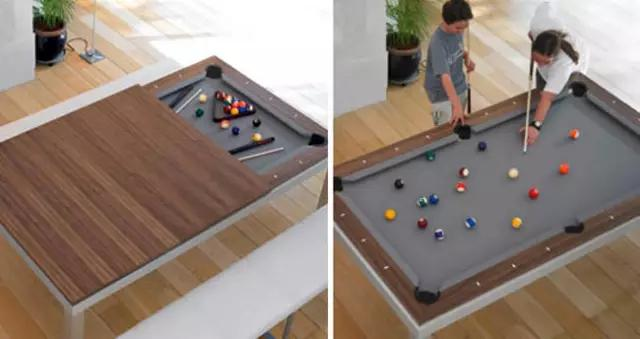 要不是房子小,谁会买这些超级节省空间的创意家居!