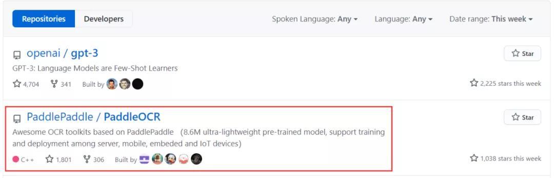 大小只有8.6M!百度开源超轻量中英文OCR模型爆红Github