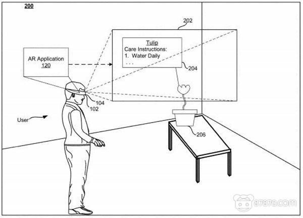 谷歌新专利曝光神秘AR头显