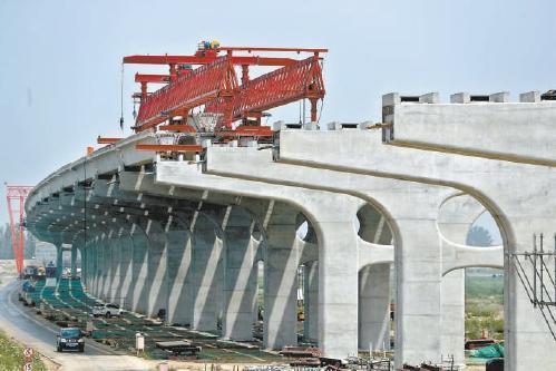 高速公路边坡施工图片