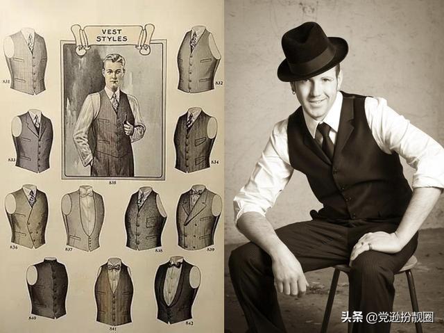绅士秋季穿搭怎能少一件经典西服马甲?
