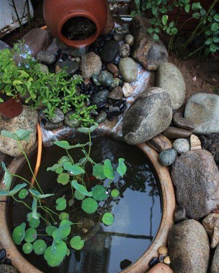 庭院中的4种水景设计,你见过几个