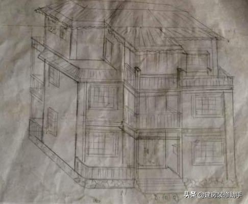 三层别墅图纸设计图
