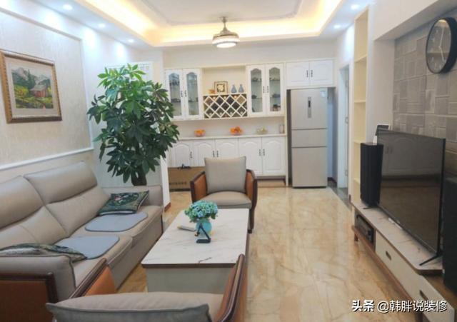晒70平米两室一厅装修