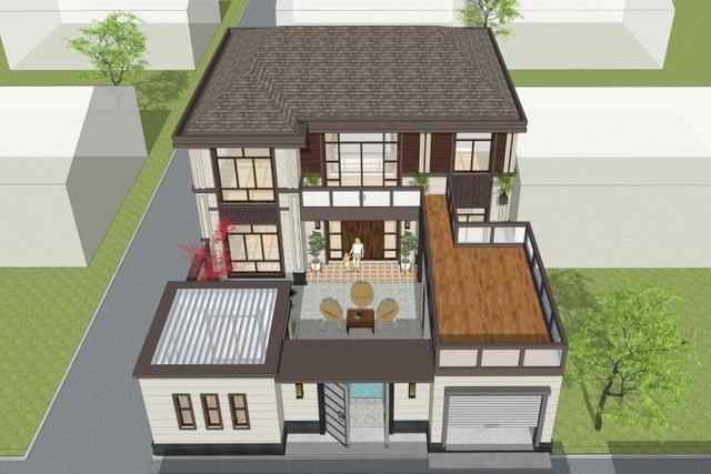 新中式宅院设计,古朴典雅中更显清新自然,中式韵味宜人
