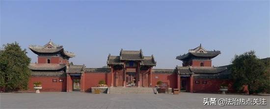 伏羲太昊陵全景视频