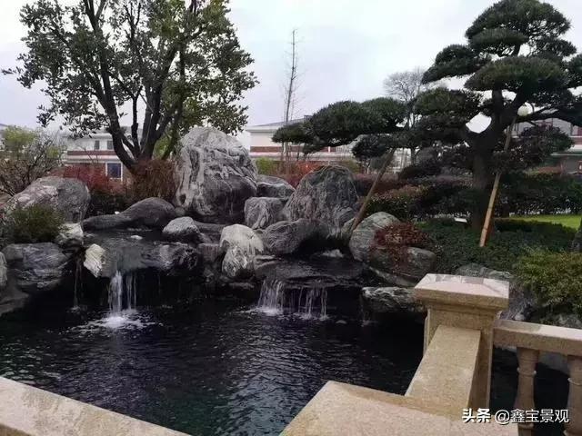 庭院景观设计——假山石材的种类选择,不同的石头打造的假山造型