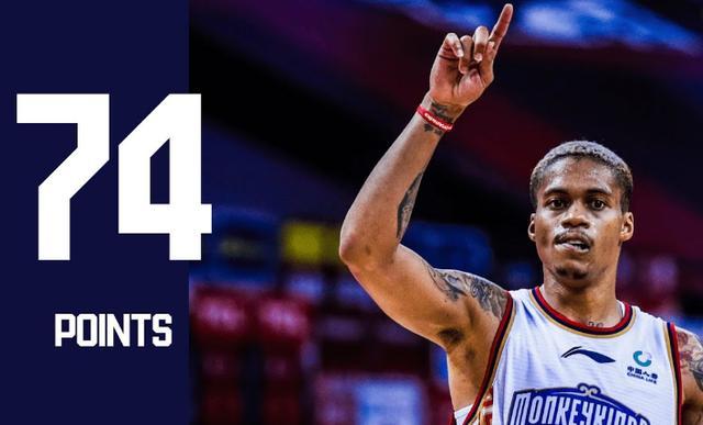 CBA最強外援?PG表弟打满48分钟砍下57分+8抄截,近三戰場均60分!(影)-黑特籃球-NBA新聞影音圖片分享社區