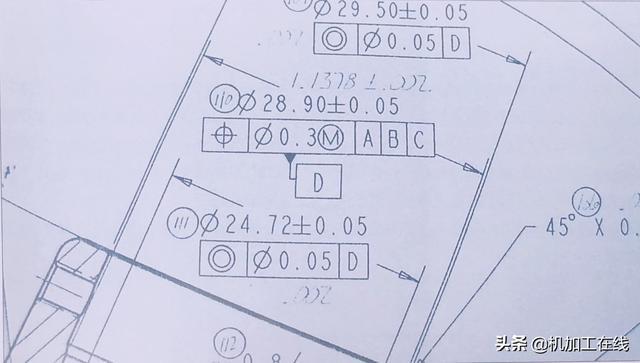几何公差标注的含义