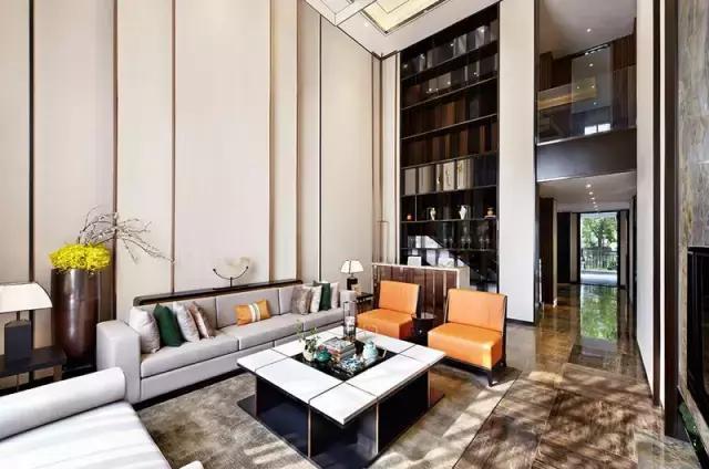 别墅豪宅380平米现代简约装修案例_效果图 - 长沙东... - 设计本