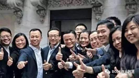 马云18人创业团队照片