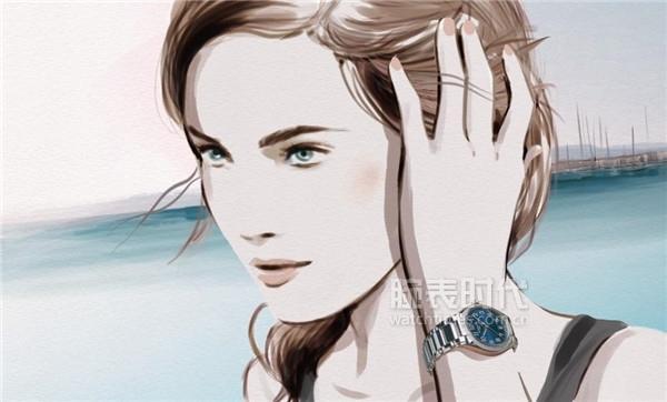 最漂亮的百达翡丽计时女表---Ref.7059
