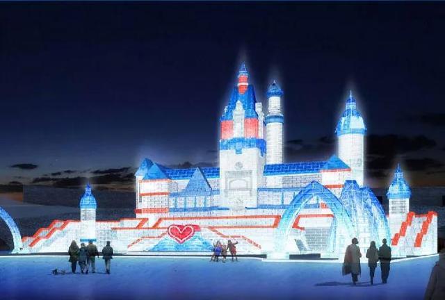 哈尔滨冰雪大世界冰雕