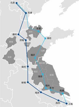 京沪高铁二线有最新进展,通车后北京至烟台仅需3小时