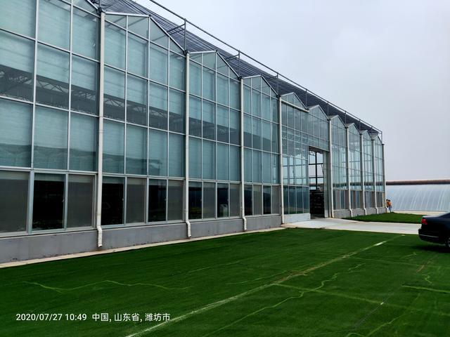 阳光温室大棚施工图-CAD建筑图纸-沐风网