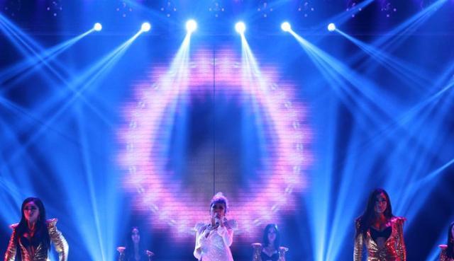舞台灯光设计平面图