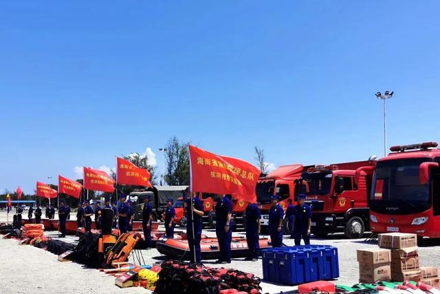 海南开展大规模抗洪抢险救援实战拉动集结演练