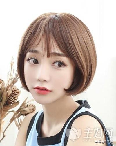大圆脸适合什么短发?10款适合大圆脸的发型,显脸小还清新可爱