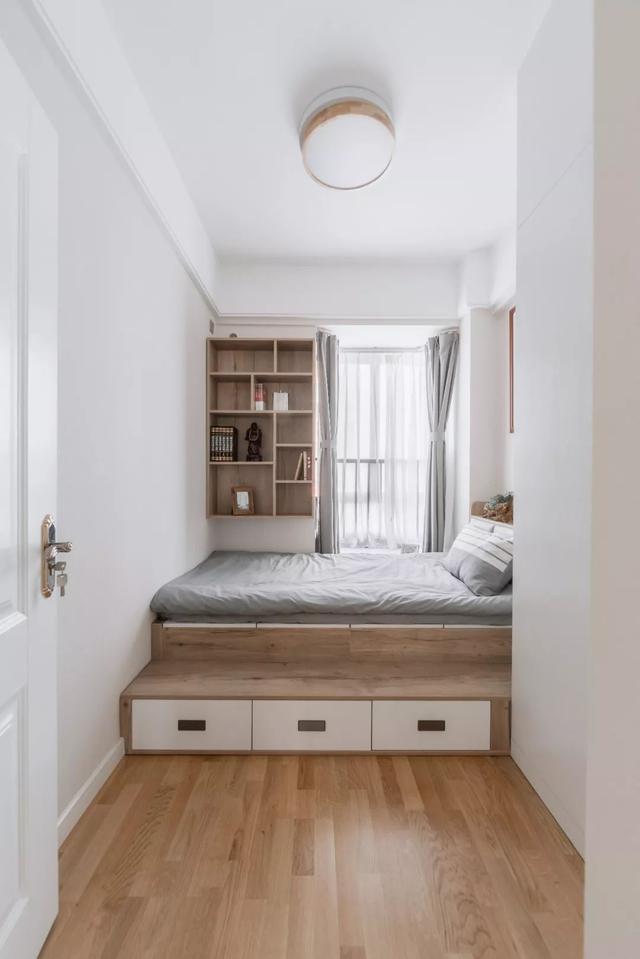 小户型的创意收纳设计,每一处的空间都很实用