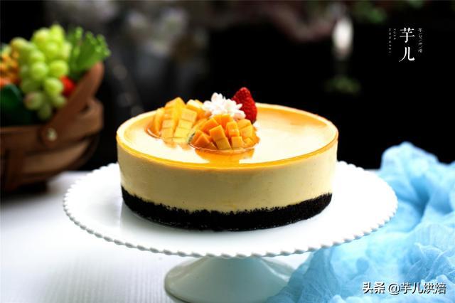 教你做慕斯蛋糕,簡單美味,細膩爽口,入口即化,無需烤箱