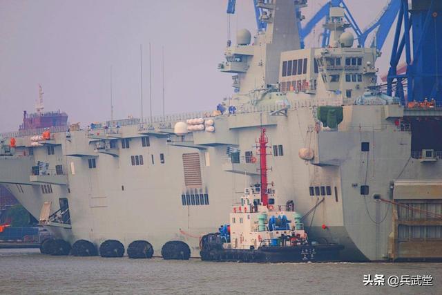 第3艘两栖攻击舰或已开工?沪东太忙,还要造外贸054和泰版两栖舰