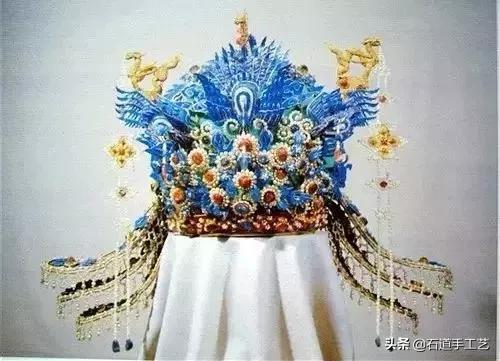 清朝皇后服饰头饰