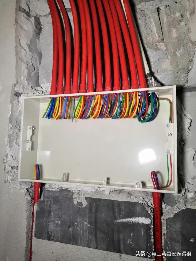 家用小型装修水电图纸