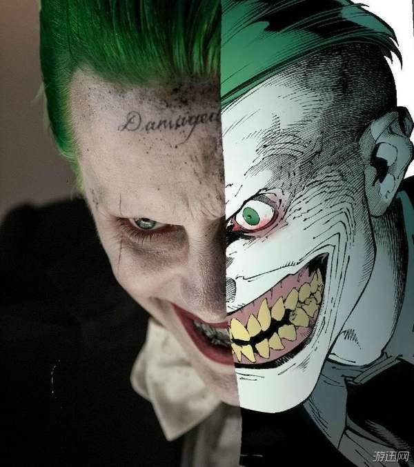 自杀小队小丑头像男