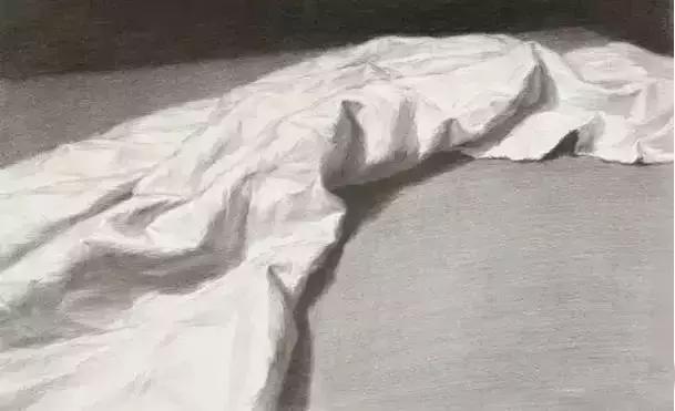 素描静物中的衬布褶皱太多太难画了,应该怎么画?