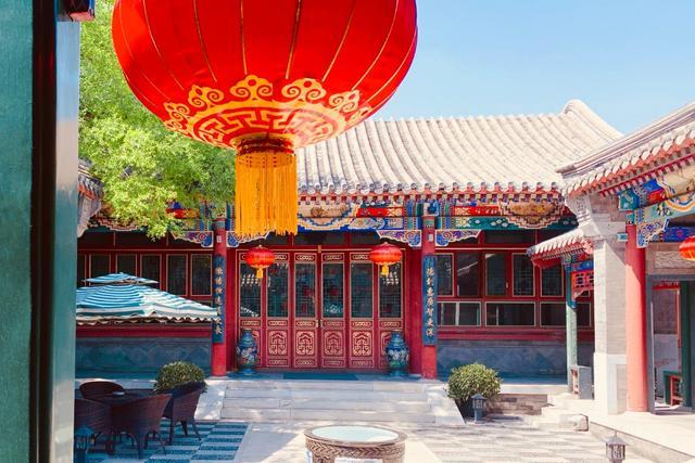 北京四合院手绘