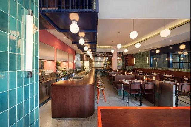 280㎡港风咖啡厅,复古风格(玉苗设计)