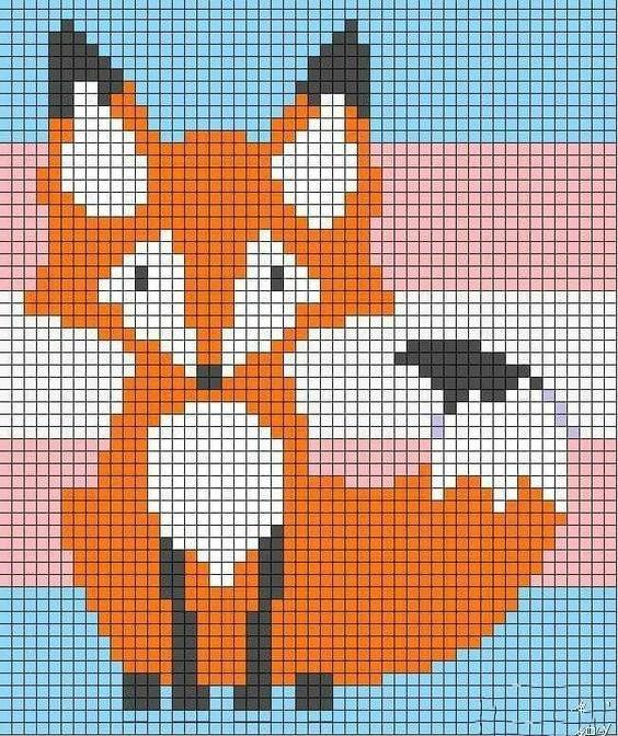 手工DIY:20款小动物刺绣图案,简单易学,喜欢的话就先收藏着吧