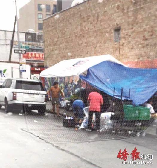 酗酒殴客砸车!游民占领纽约华人商业街,治安卫生堪忧,商家怨声载道