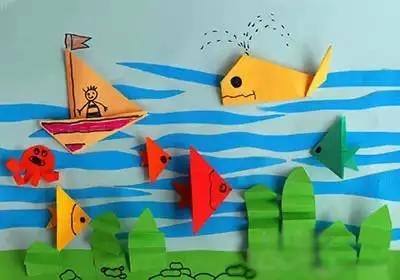 儿童手工折纸,益智有趣,再也不用为手工课作业发愁,附14个教程