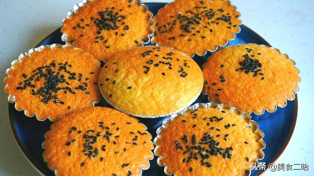 传统老式鸡蛋糕:有面粉就能做,无水无油,又脆又香吃不够