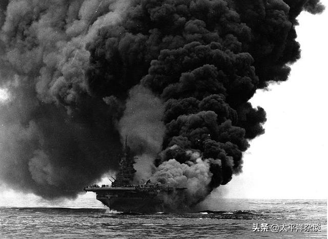 """""""屹立不倒""""(下)——太平洋战争后期美军舰队型航母生存性评价"""