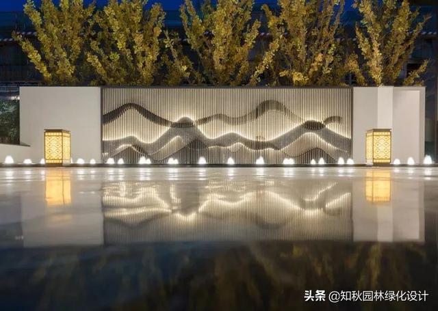 现代景墙设计